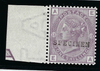 Great Britain 1882 1s Purple Plate 13, SG163var