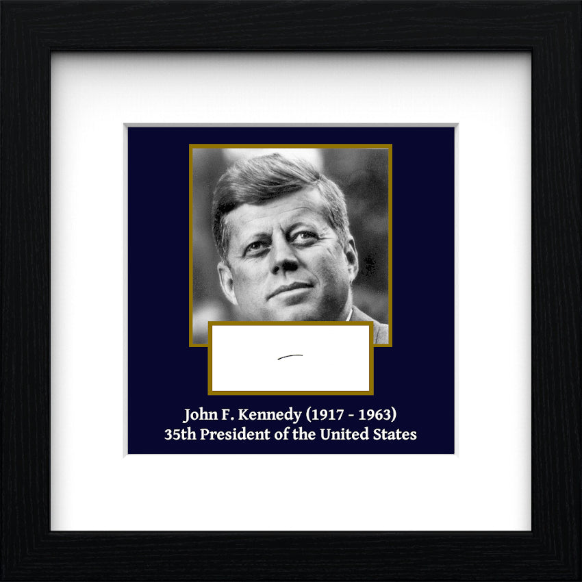 President John F. Kennedy Authentic Strand of Hair