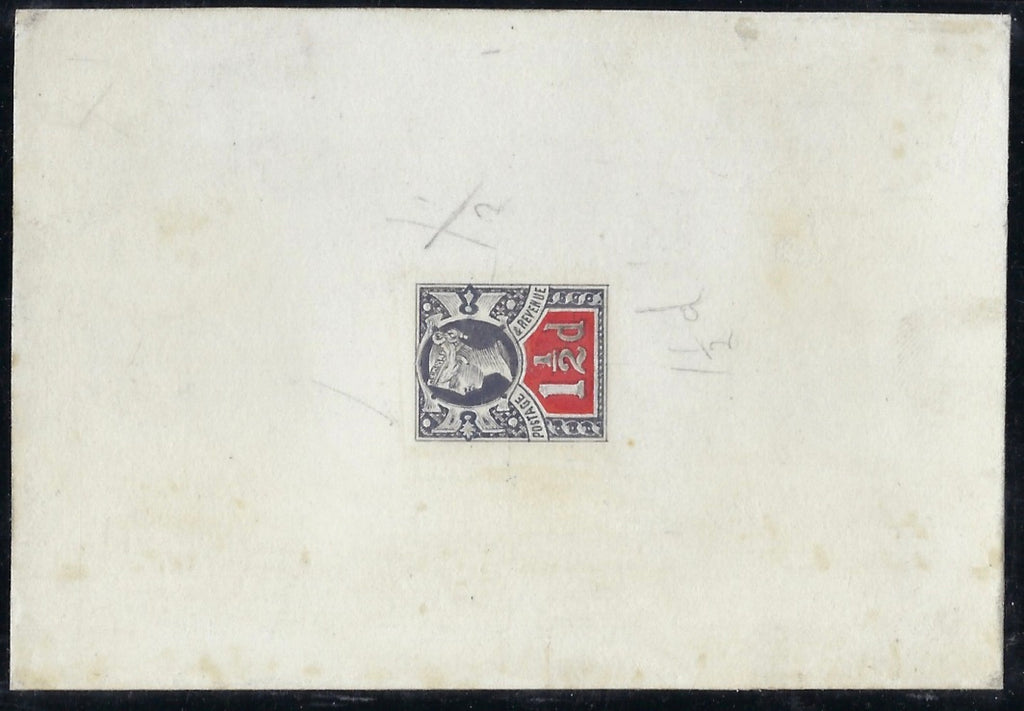 Great Britain 1885 1½d 'Jubilee Essay'. SG198var.