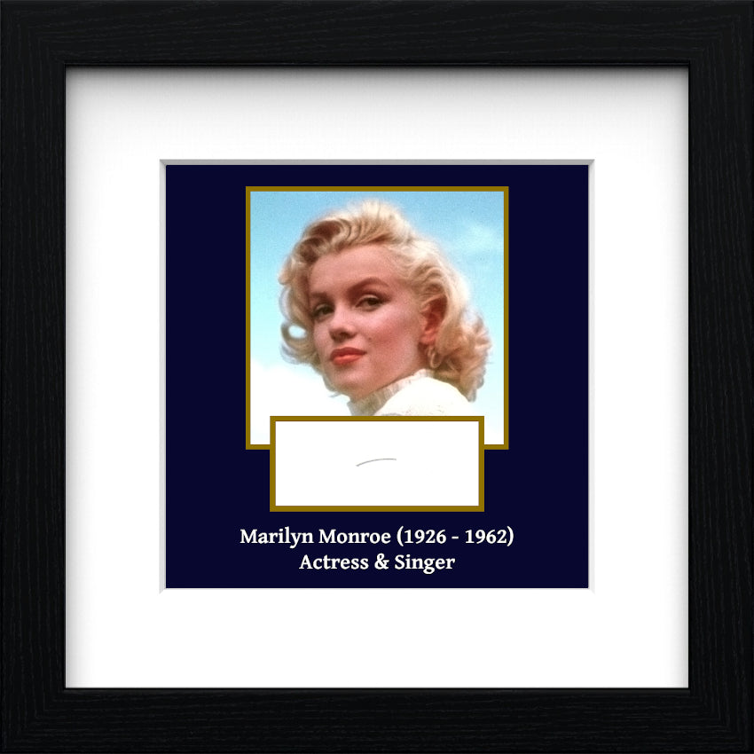 Marilyn Monroe Authentic Strand of Hair