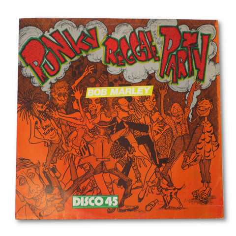 Bob Marley signed Punky Reggae Party 12