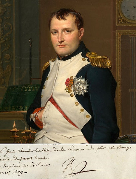 Napoleon Bonaparte Order of the Iron Crown Signed Document