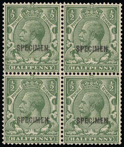 Great Britain 1924 King George V (Specimen), SG418var