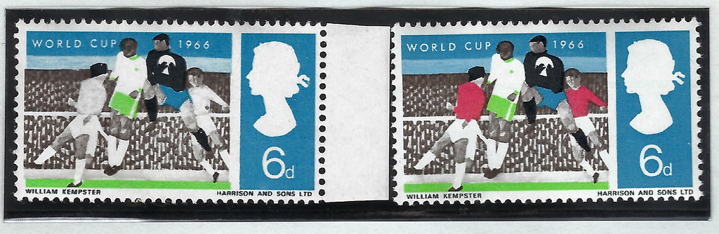 Great Britain 1966 Queen Elizabeth II 6d World Cup, SG694c
