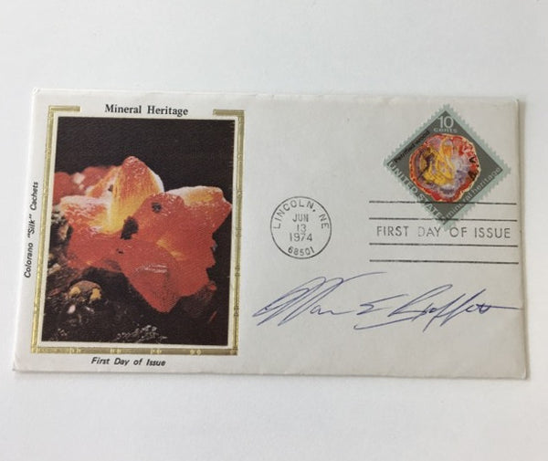 Warren Buffet signed First Day Cover