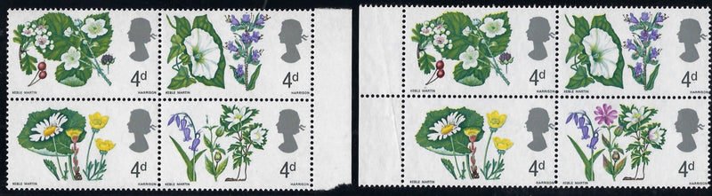 Great Britain 1967 4d British wild flowers. SG720c