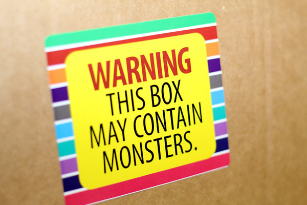 Well-Planned Move: Humorous Moving Labels with funny jokes and sayings to make you laugh during any move!