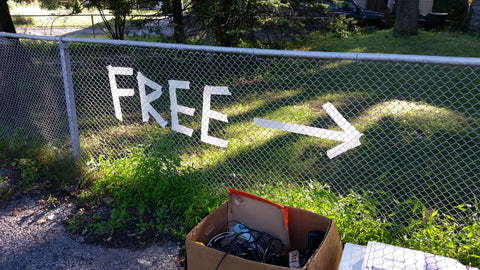 Fence Free Sign