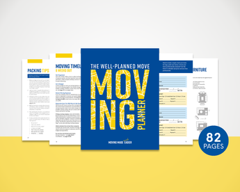 Moving Planner - DIGITAL DOWNLOAD - PRINTABLE Booklet