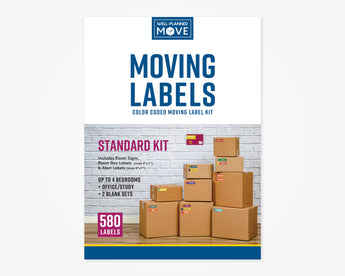 Color Coded Moving Label Kit