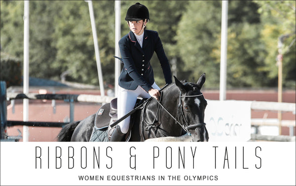 Ribbons and Pony Tails:  Women Equestrians in the Olympics