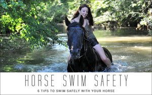 Tips to Swim Safely with Your Horse