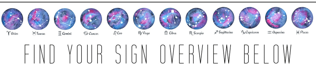 Find your astrological sign