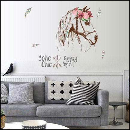 Gypsy Horse Wall Decal