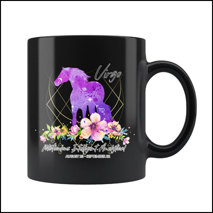 Horse Virgo Astrology Mug