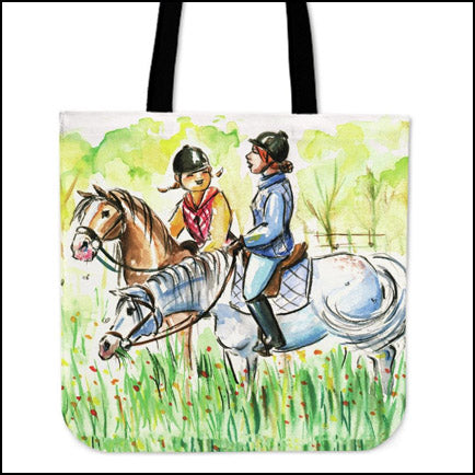 Two Riders Horse Bag