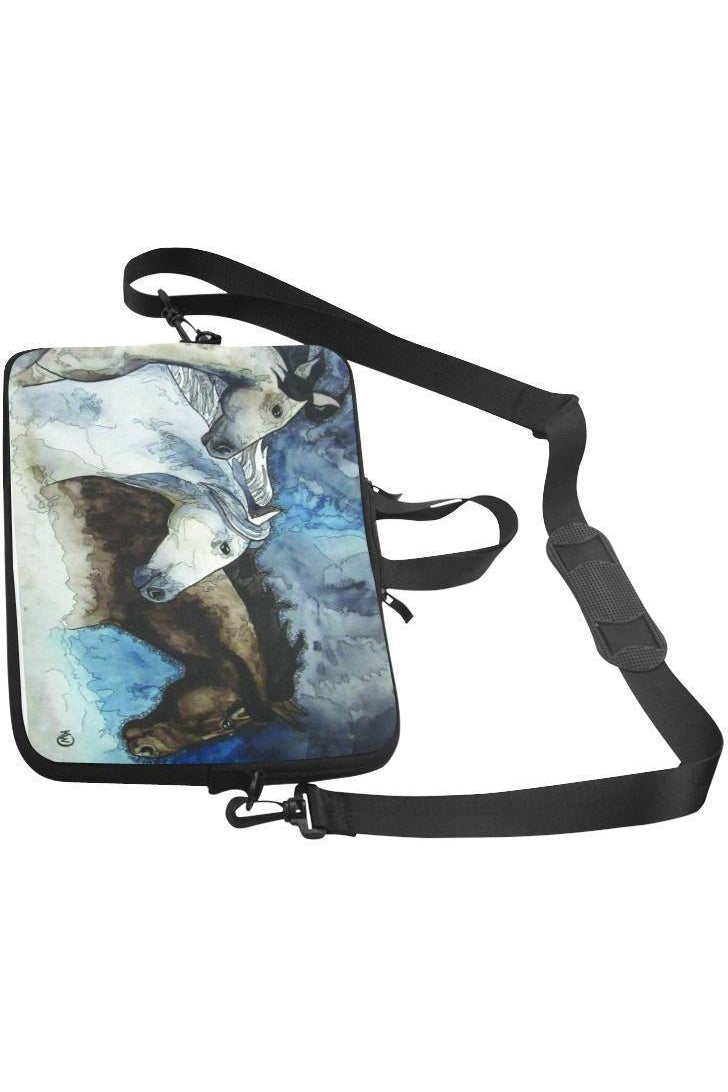 "Three Wild Horses Computer Case Classic Sleeve for 15.4"" 15.6"" Laptop"