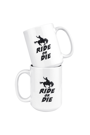 Black Ride or Die Mug