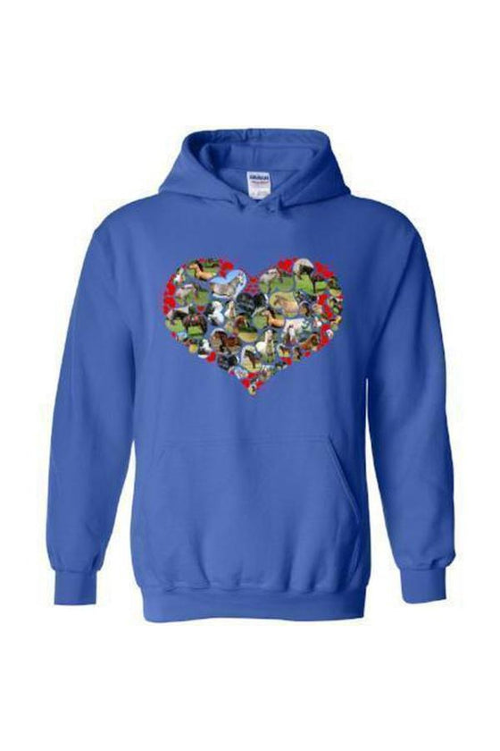 Heart Shape Horses - Long Sleeve