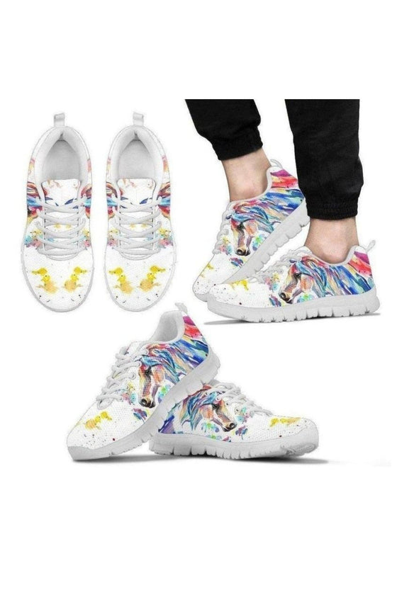 Horse Pattern Men's Sneakers