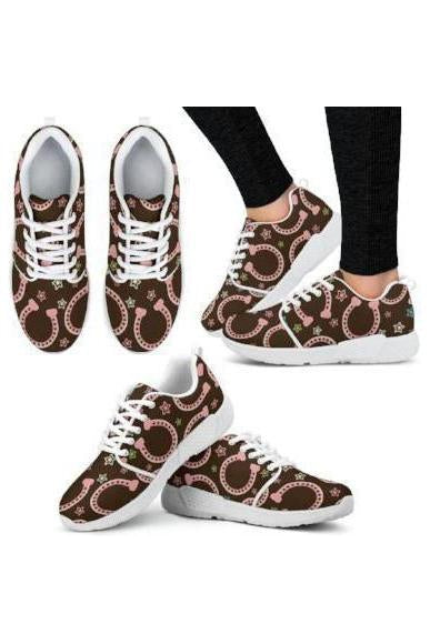 Horse Athletic Sneakers-Sneakers-Pillow Profits-1-US5 (EU35)-Three Wild Horses