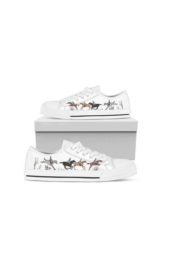 Low Top Horse Pattern Shoes