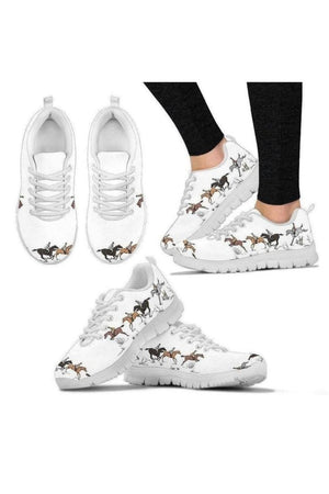 Horse Athletic Sneakers-Sneakers-Pillow Profits-US5 (EU35)-Three Wild Horses