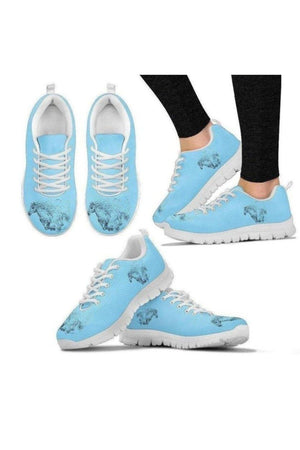 Running Horse Sneakers-Sneakers-Pillow Profits-Women's Sneakers-US5 (EU35)-Three Wild Horses