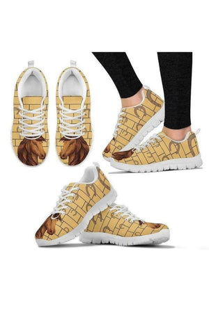 Lovely Horse Sneakers-Sneakers-Pillow Profits-Women's Sneakers-US5 (EU35)-Three Wild Horses