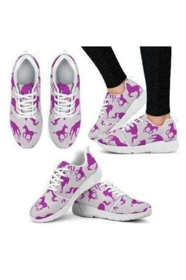Horse Athletic Sneakers-Sneakers-Pillow Profits-9-US5 (EU35)-Three Wild Horses