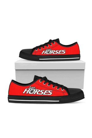 Low Top Horse Pattern Shoes-Shoes-Pillow Profits-US5.5 (EU36)-Three Wild Horses