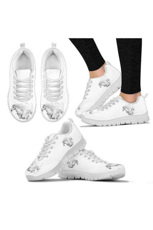 White Horse Sneakers-Sneakers-Pillow Profits-Women's Sneakers-US5 (EU35)-Three Wild Horses