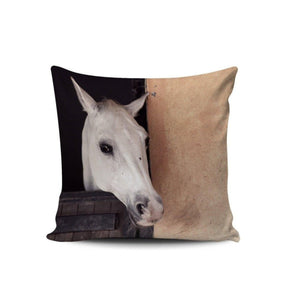 Premium Poly-Cotton Cushion Cover-Home Decor-Pillow Profits-Cushion Cover-Three Wild Horses