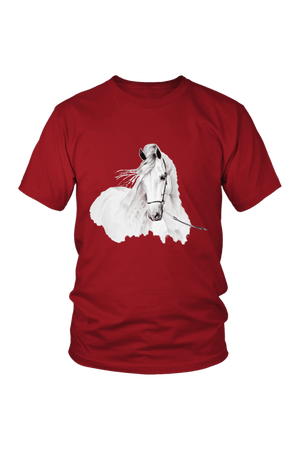 Day Dreaming - Tops-Tops-teelaunch-Unisex Tee-Red-S-Three Wild Horses