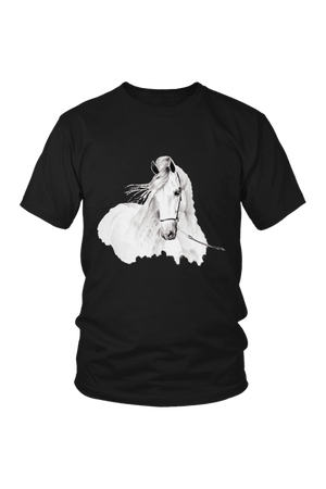 Day Dreaming - Tops-Tops-teelaunch-Unisex Tee-Black-S-Three Wild Horses
