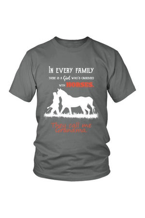 They Call Me Grandma - Tops-Tops-teelaunch-Unisex Tee-Grey-S-Three Wild Horses
