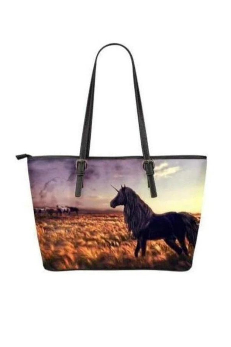 Horse PU Leather Tote Bags