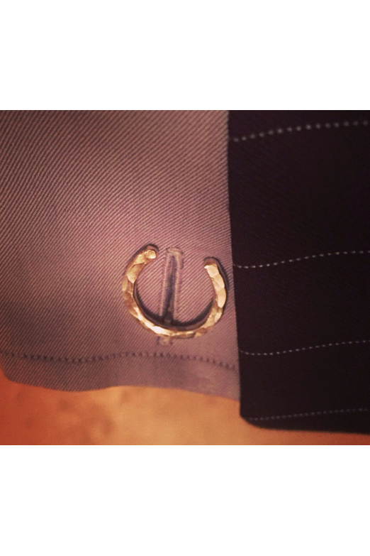 Personalized Horseshoe Cufflinks