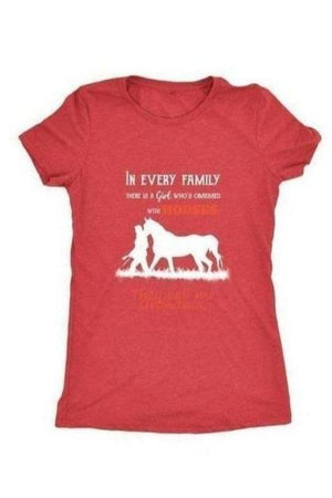 They Call Me Grandma - Tops-Tops-teelaunch-Ladies Triblend-Red-S-Three Wild Horses