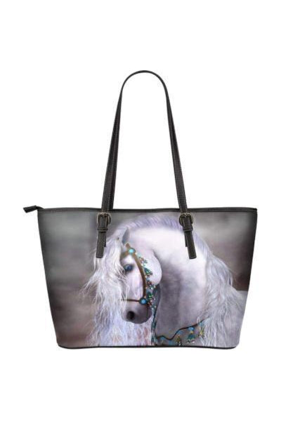 Horse Water Resistant Tote Bag-Tote Bags-Pillow Profits-2-Three Wild Horses
