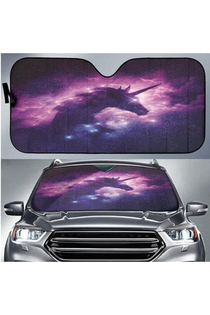 Dark Slate Gray Unicorn Sun Shade