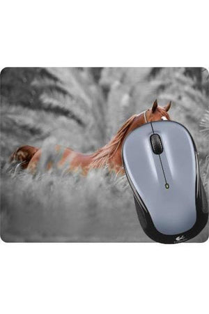 Horse in the Wild - Mouse Pad-Mousepads-teelaunch-Mousepad-Three Wild Horses