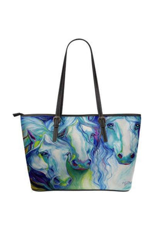 Horse Water Resistant Tote Bag-Tote Bags-Pillow Profits-1-Three Wild Horses