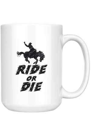 White Smoke Ride or Die Mug