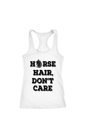 Black Horse Hair Don't Care T-Shirt