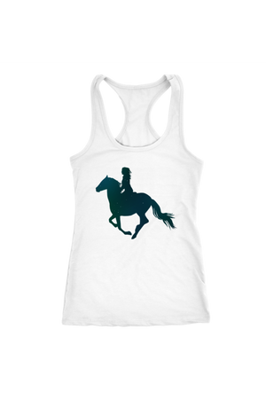 White Smoke Horse Riding T-Shirt
