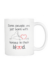 Horses in their blood - Mug