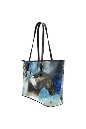 Three Wild Horses Tote Bag-Tote bags-interestprint-One Size-Three Wild Horses