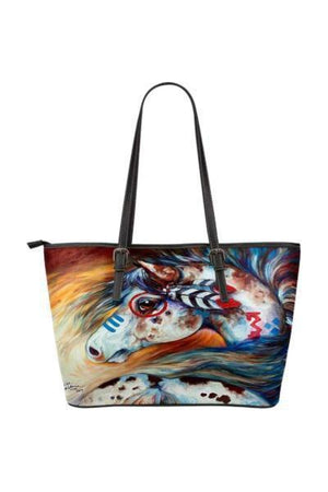 Horse Water Resistant Tote Bag-Tote Bags-Pillow Profits-5-Three Wild Horses