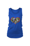 Heart Shape Horses - Tank Tops